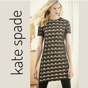 Kate Spade New Black & Nude Dress
